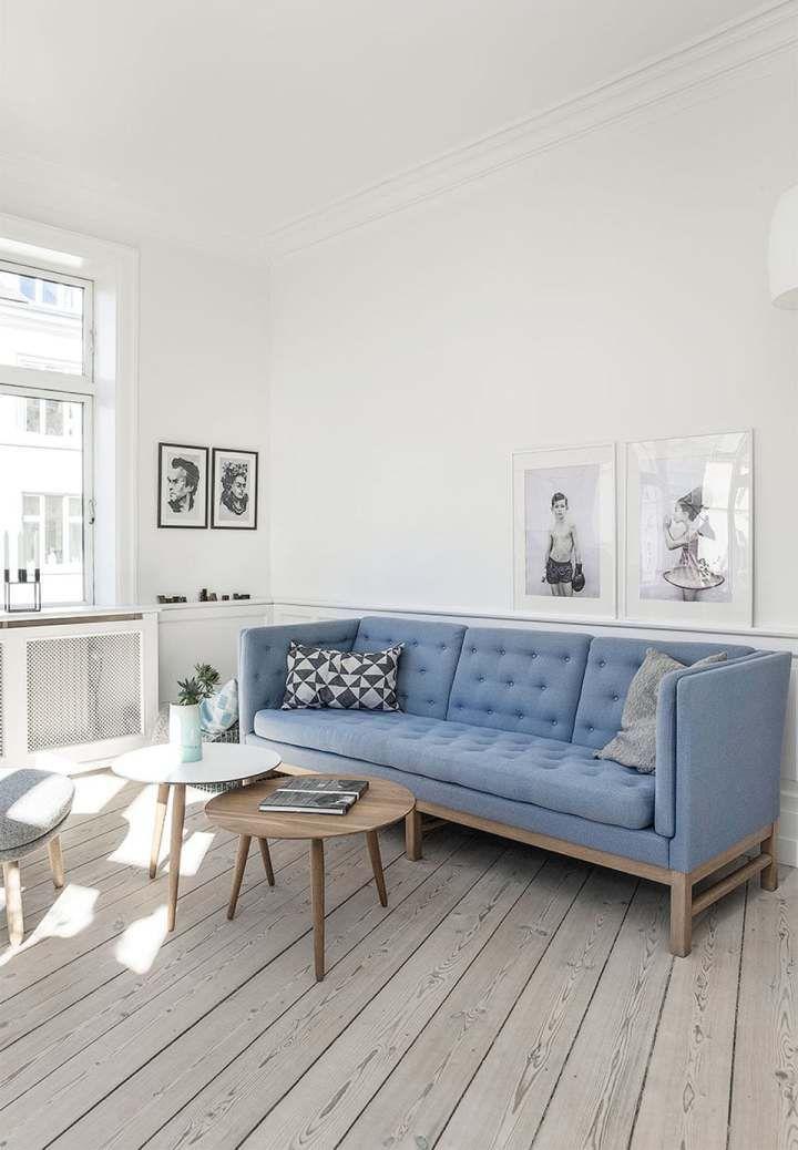 DIY, reciclaje y muebles daneses de diseño Interiors, Living