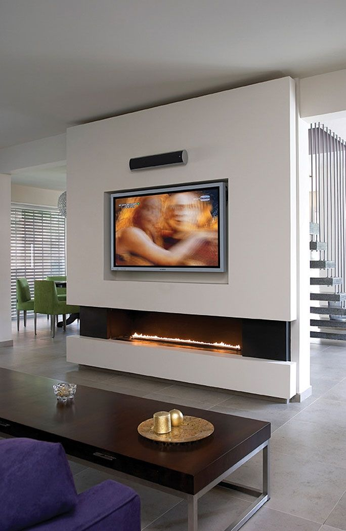 Ortal Ortal Clear 150 Glass Front Fireplace By