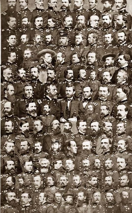 Civil War Generals.  As in every major conflict, some of these men were poor excuses for human beings.  Some of the poor excuses were superb military tacticians.  Some were loved by their men, and couldn't move them across the street.