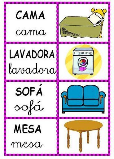 Palabras Dibujo Iliana 2 Picasa Web Albums Lectura Y Escritura Clase De Espanol Alfabetizacion Inicial