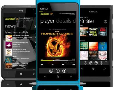Audible.com brings 100,000 audio books to Windows Phone