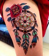 21 Ideas tattoo ideas female dreamcatcher native american