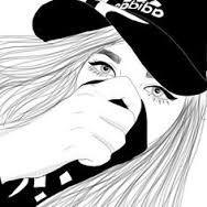 Resultado de imagem para desenho de menina deitada tumblr