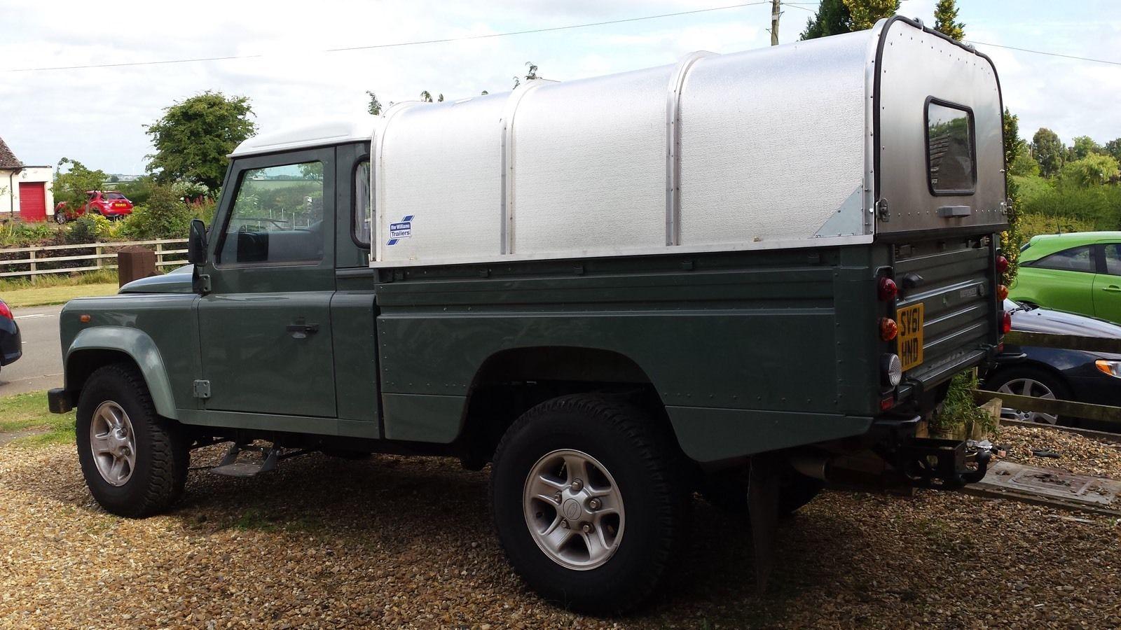 Land Rover 110 Fuse Box Explained Wiring Diagrams Defender Layout Ebay Trusted Diagram Radio Ifor Williams Canopy Aluminium