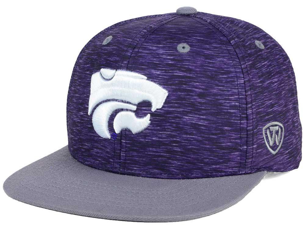 save off 52f06 95eca Kansas State Wildcats Top of the World NCAA Energy 2Tone Snapback Cap