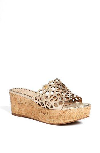 3bdf6f6b20c8a Tory Burch  Dunn  Platform Sandal (Online Only) available at  Nordstrom