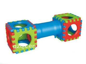 Colorful Plastic Kindergarten Children Play Tunnel
