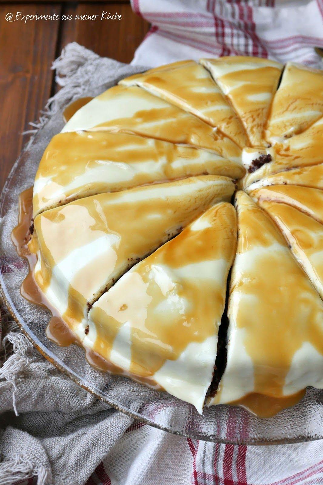Schoko-Mandel-Brownie mit Frischkäse-Topping | Frischkäse topping ...