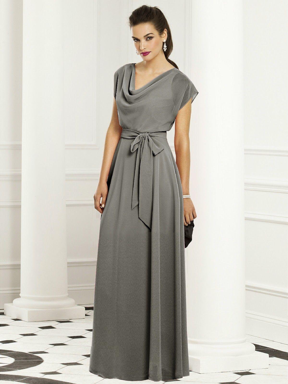 7b611eaab Bonitos vestidos de noche elegantes