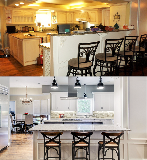 Counter Height Vs Bar Height Snappy Kitchens Kitchen