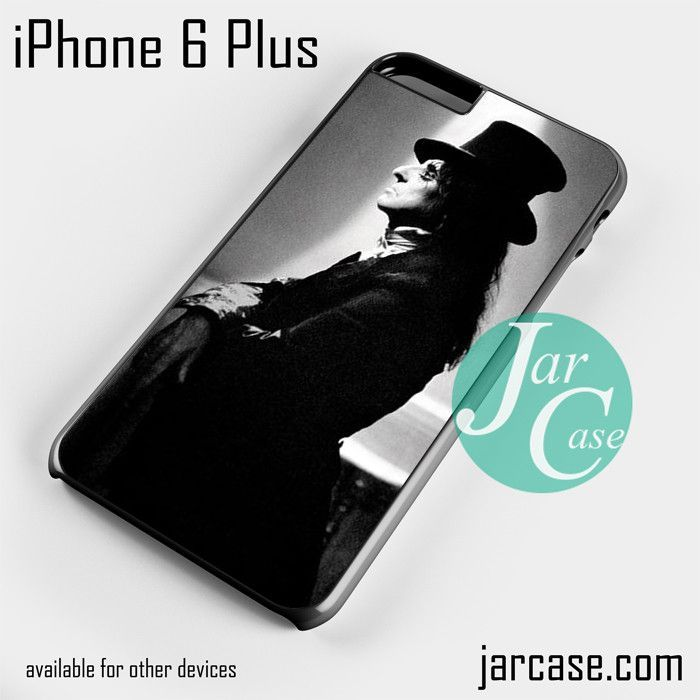 Alice Cooper With Magician Hat Phone case for iPhone 6 Plus and other iPhone devices