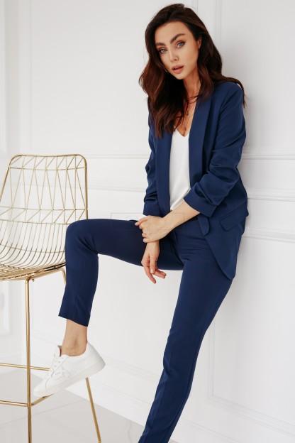 Spodnie Cygaretki Granat In 2020 Fashion Outfits Style