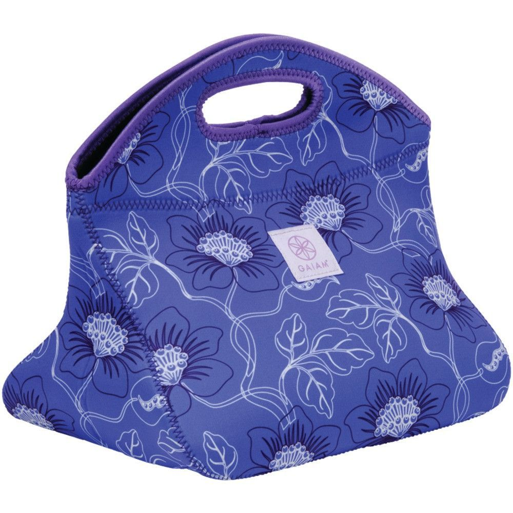 Gaiam Neoprene Lunch Clutch (quartz Wildflower)