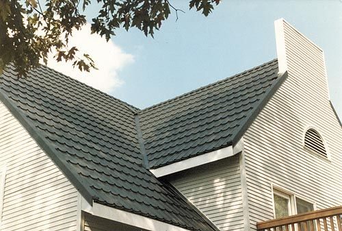 Scan Roof Metal Roofing Walls and Ceilings from ATAS – Scalloped Roof Shingles