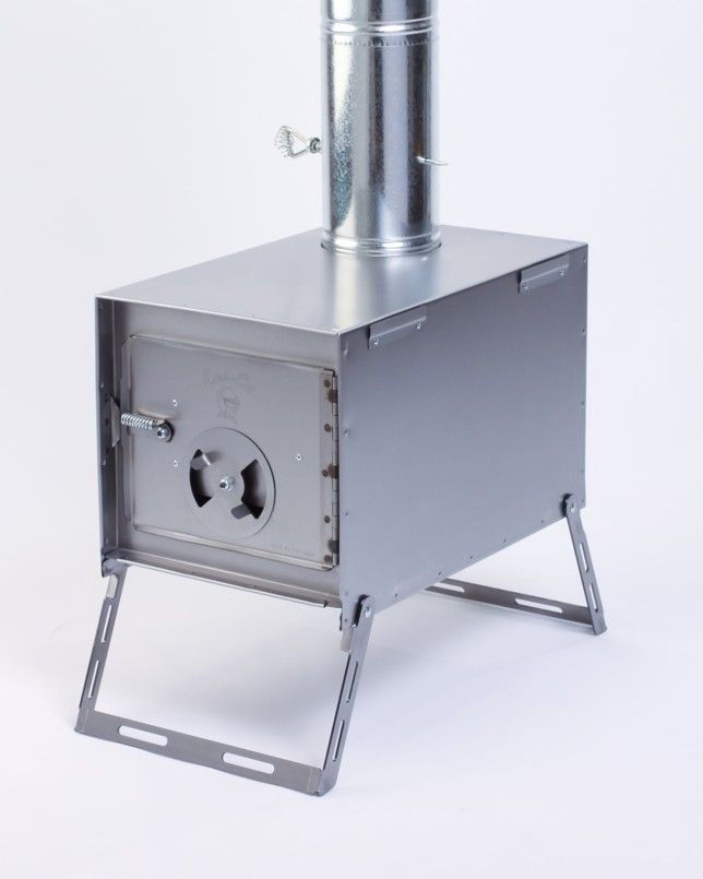 Alaskan Junior wood camp stove and tent stove