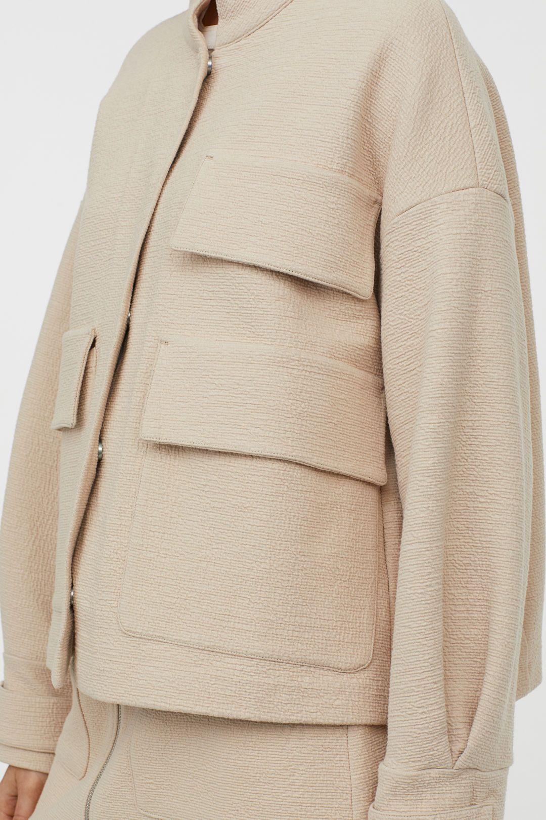 Oversized Jacket Light Beige Ladies H M Us Oversized Jacket Jackets Outerwear Jackets [ 1620 x 1080 Pixel ]