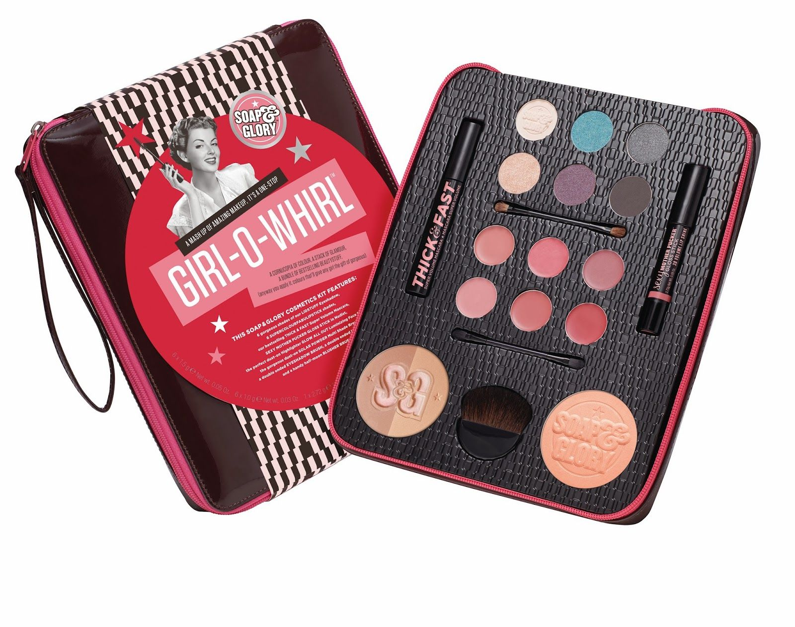 Boots Star Gift of the Week Soap and Glory's GirlOWhirl