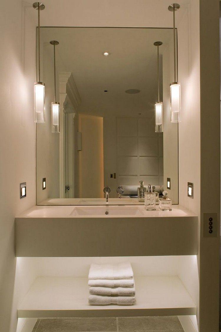lamparas tubo baño diseño | baños | pinterest | colgantes, baños y