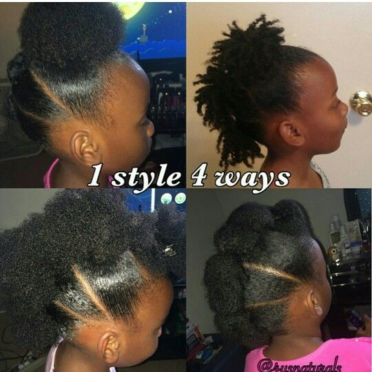 Easy Mohawk Natural Hair Styles Baby Girl Hairstyles Natural