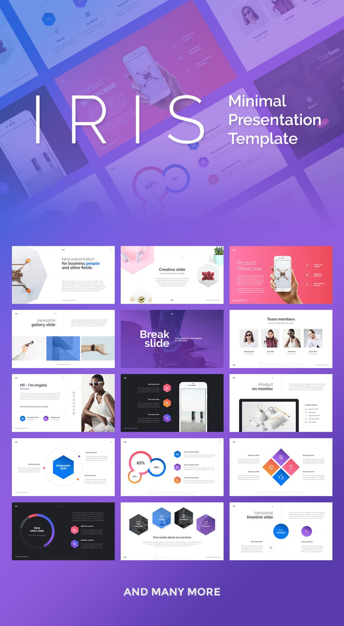 this set of 14+14 slick presentation templates are compatible with, Powerpoint templates