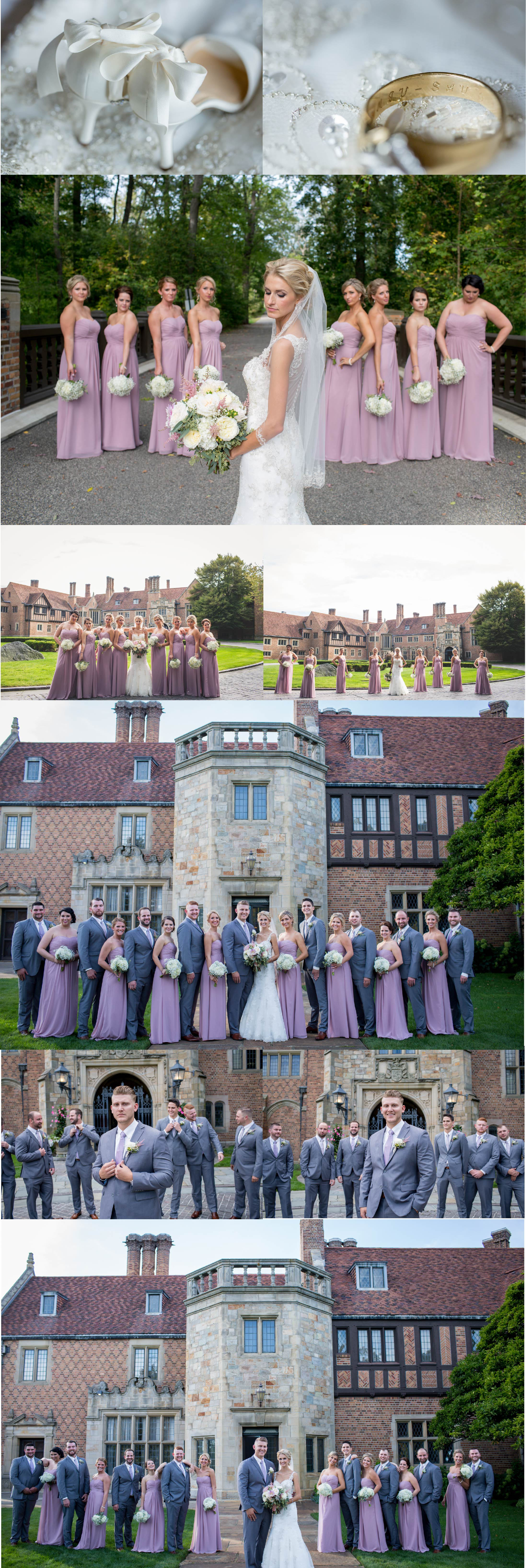 Royal Oak Wedding Photographers-Weddings by Adrienne & Amber #meadowbrook #meadowbrookhall #detroit #michigan #photography #weddings #rochester #outdoor #bride #groom #beautiful #viel #couple #kiss #wedding #royaloak #photo