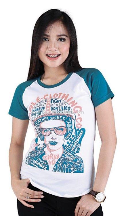 Baju T Shirt Wanita