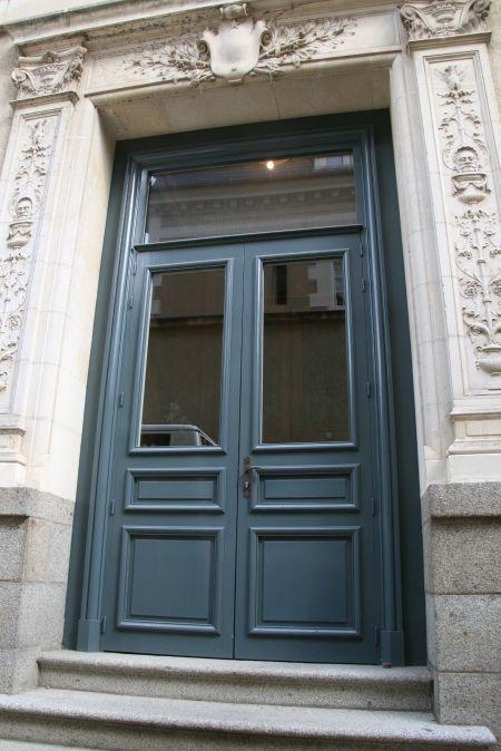 Porte d entr e grand cadre porte entr e pinterest for Porte d entree maison ancienne