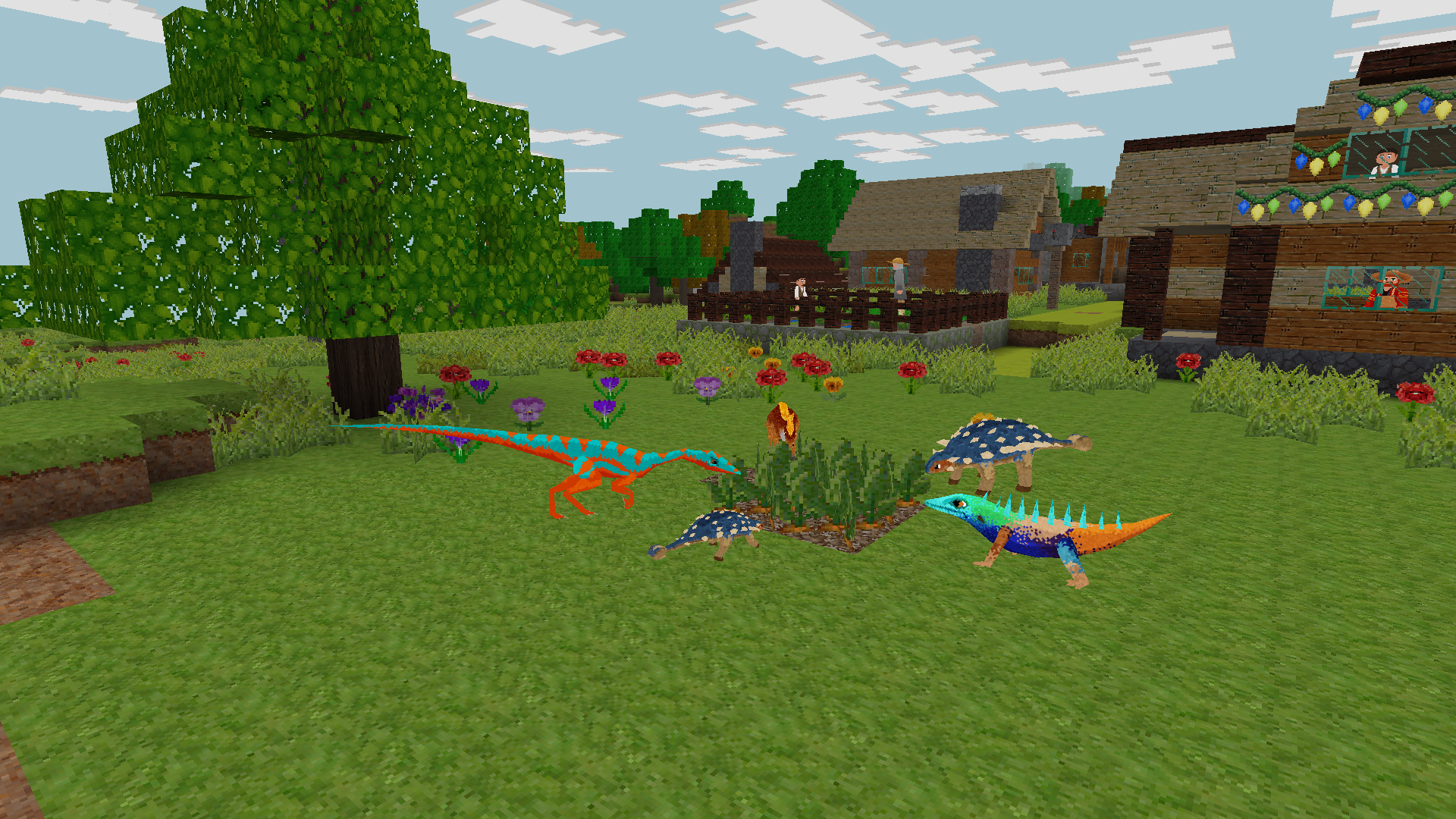 Dinocraft Survive Craft Cube World Survival Games Dino Craft