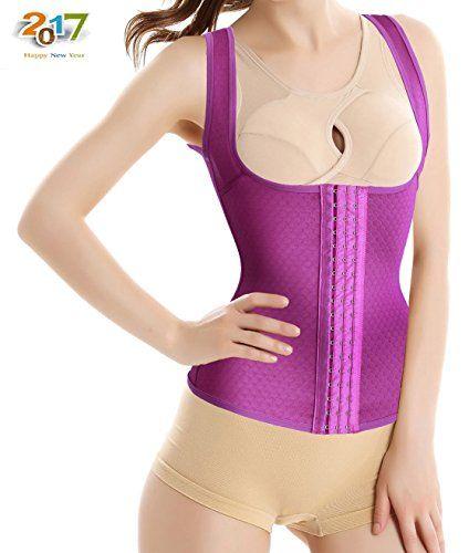 46c5209e66 Cheap Sweat Waist Trainer Vest Ursexyly Fashion Hook Sauna Suit for Fitness  Exercise deals week