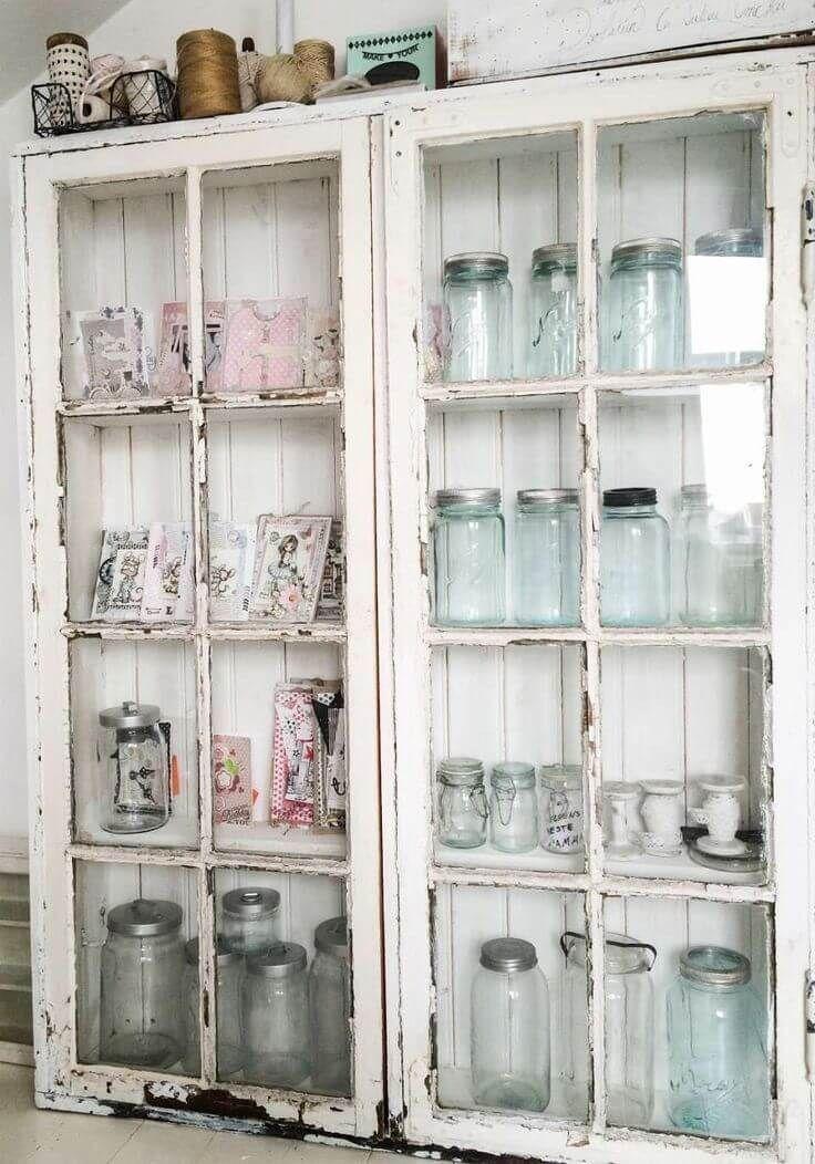 29 Wunderschöne Shabby Chic Kitchen Decor Ideen, die bequem, gemütlich und süß sind - Hause Dekore #kitchendecorideas