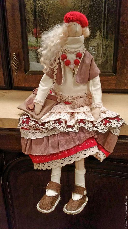 Куклы Тильды ручной работы. Ярмарка Мастеров - ручная работа. Купить Тильда Бохо. Handmade. Комбинированный, подарок девушке