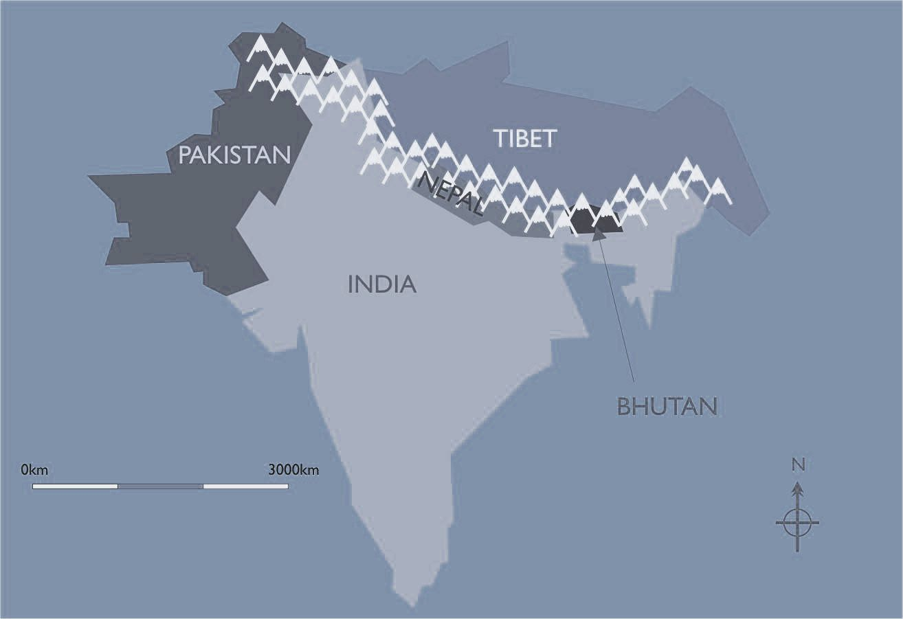Himalayas On World Map | Park Map
