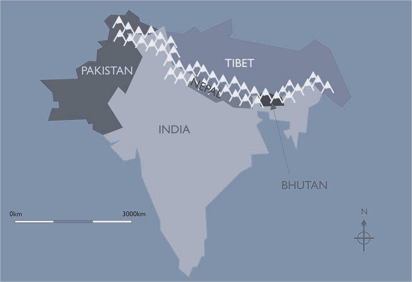 Himalayan Mountains World Map Himalayan Mountains World