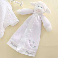 Bless this child christian lamb personalized baby blanket doll bless this child christian lamb personalized baby blanket doll negle Gallery