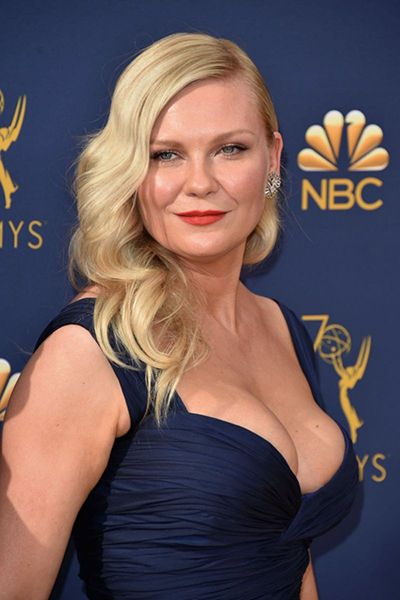 Photo of Kirsten Dunst Blue Gown – Celebrity Fashion