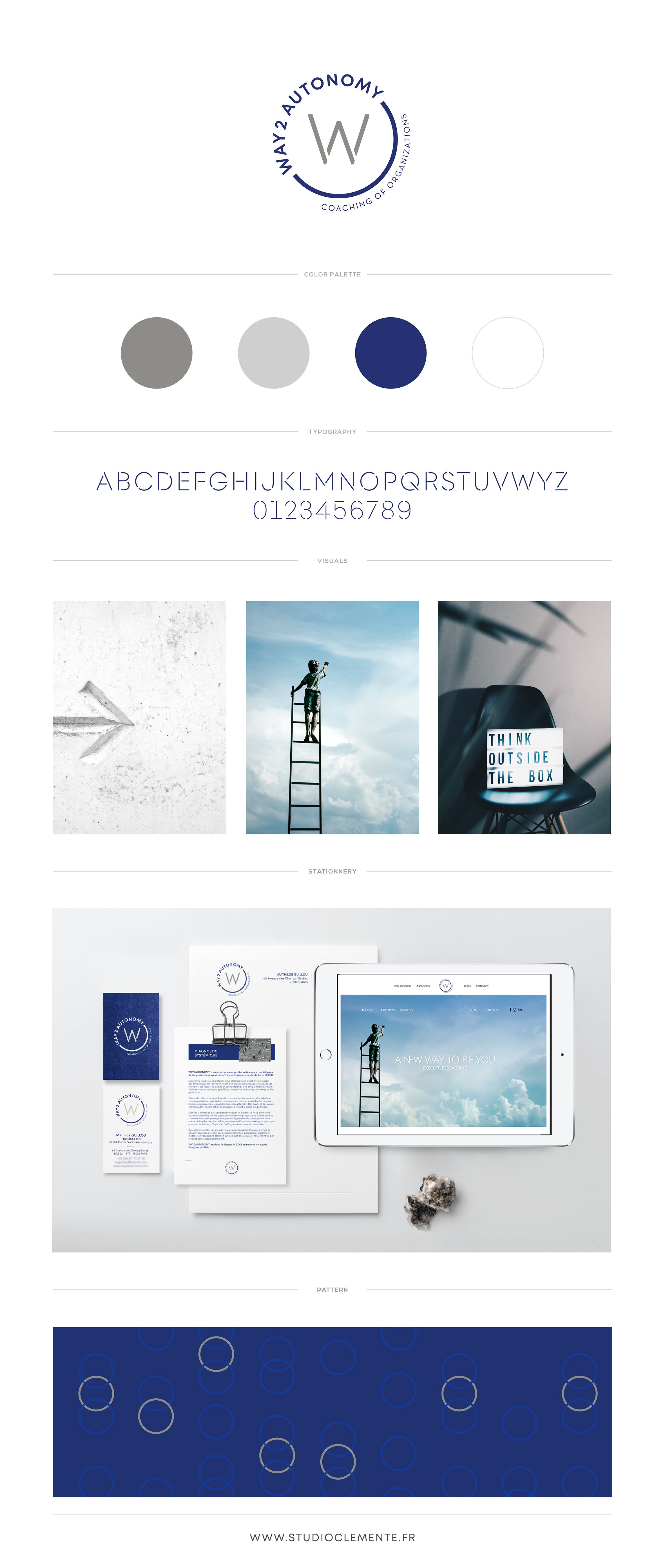 Way 2 Autonomy Studio Clemente Identite Visuelle Branding Web Design