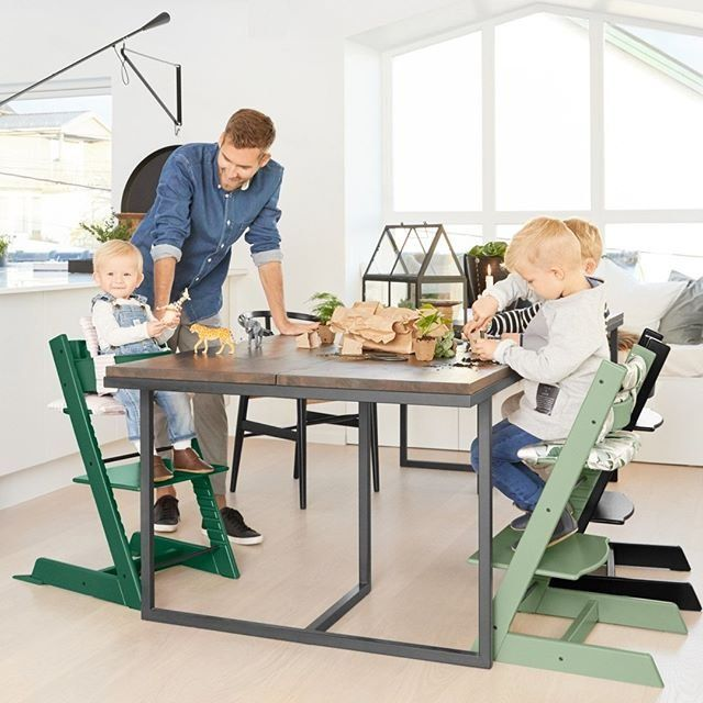 The Stokke Tripp Trapp Chair Was Designed To Bring Children Of Any Age Or Size Family Table Where Does Your Little One Use Their