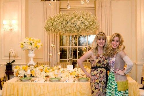 amber karson events 500x333 Color Inspiration:  Yellow Garden Tea Party