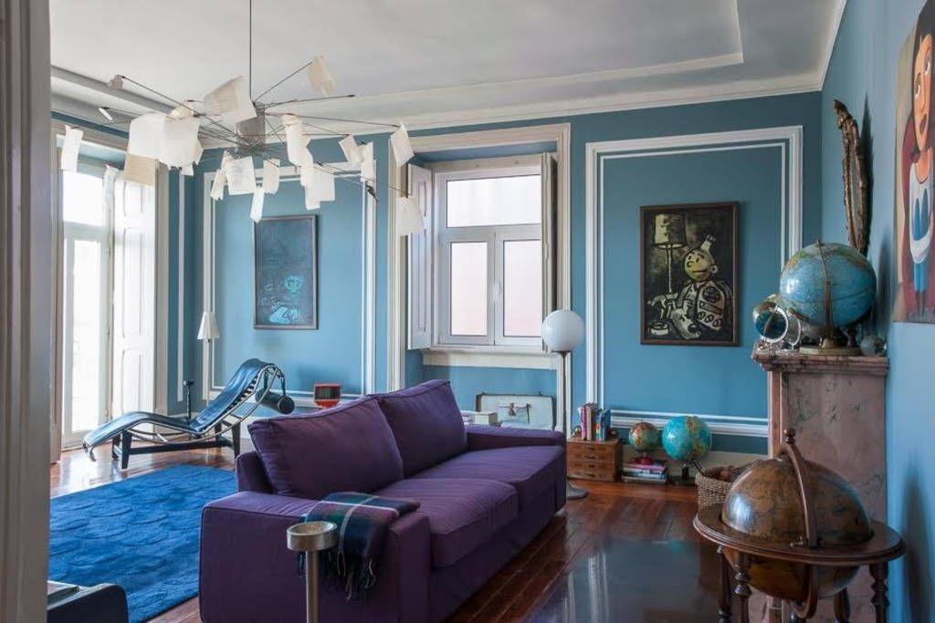 Room and living room with a view - Apartments zur Miete in Lisboa ...
