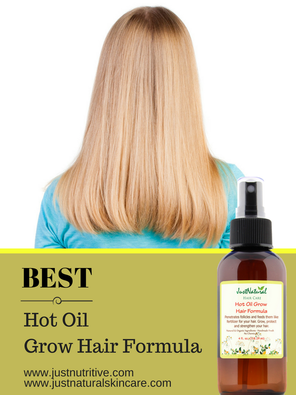 This hot oil treatment is one of the best ways to make your hair grow faster and longer.