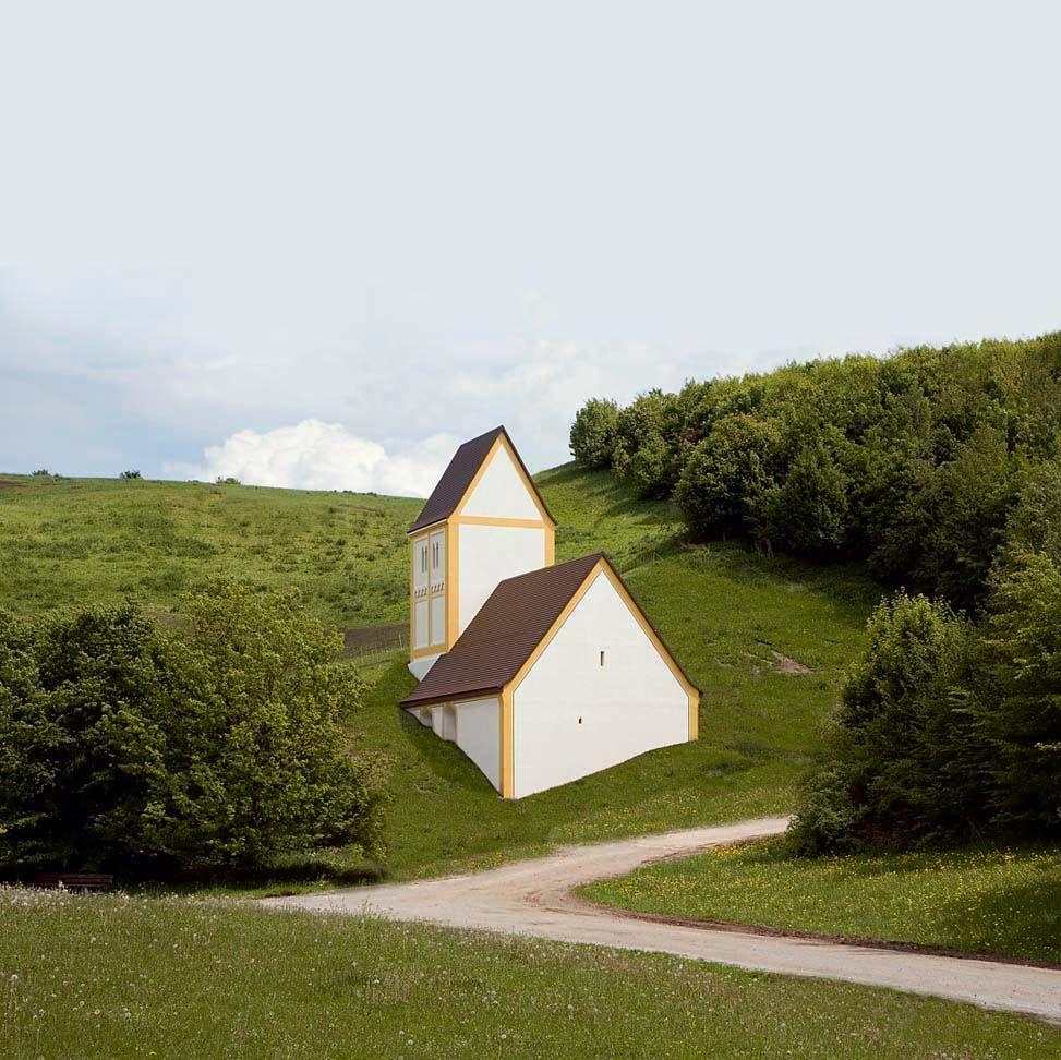 Timm ulrichs versunkenes dorf art contemporary pinterest for Innenarchitektur studium ausland