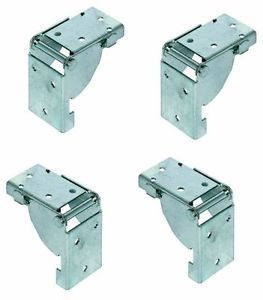 4 folding table leg brackets locks in position open and. Black Bedroom Furniture Sets. Home Design Ideas