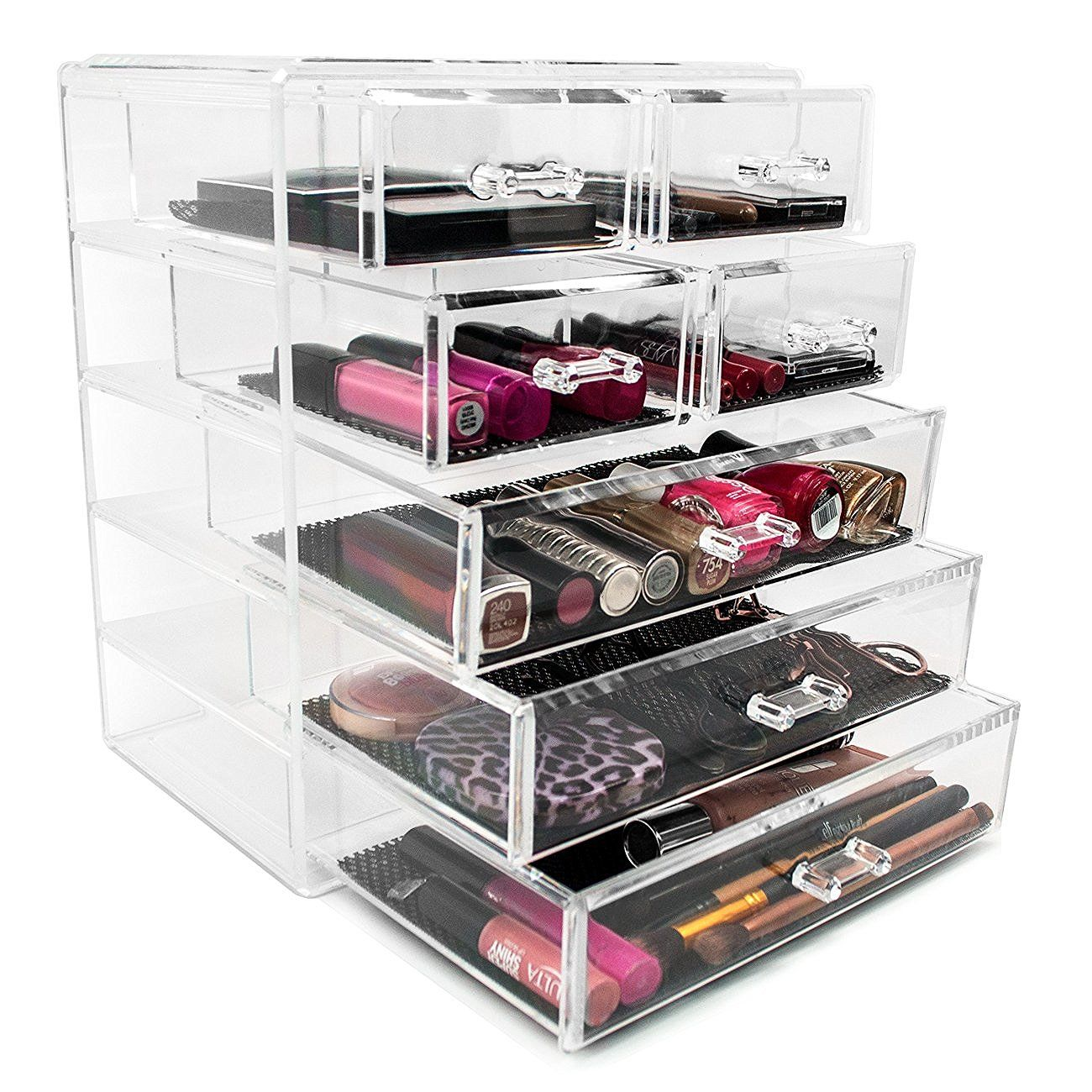 Sorbus Acrylic Drawer Makeup Organizer with Removable Drawers 3