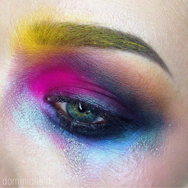 Love This Avant Garde Eyeshadow Look Created By Dominiqueldr Follow