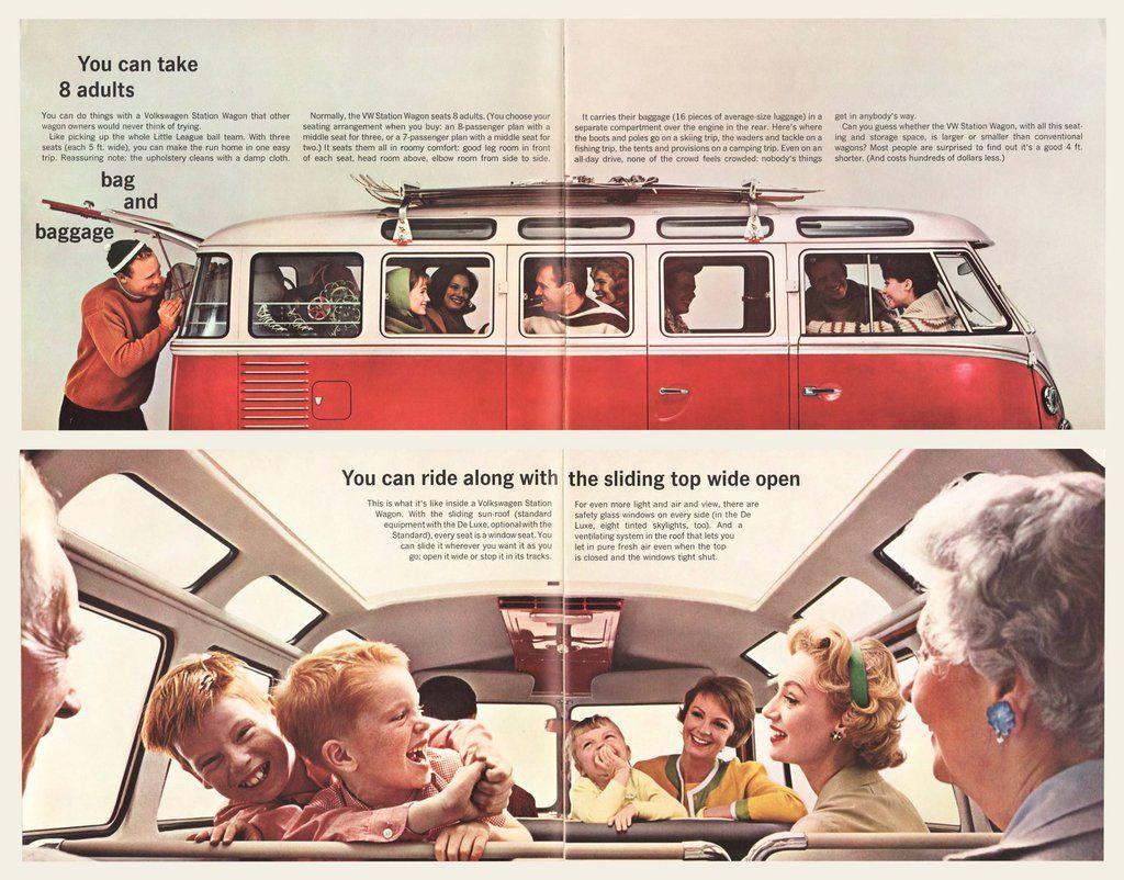 1962 Volkswagen Type 2 Bus Brochure Volkswagen type 2