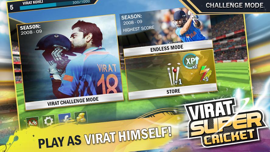 Virat Super Cricket (Unreleased) l_SCREENSHOT Challenges