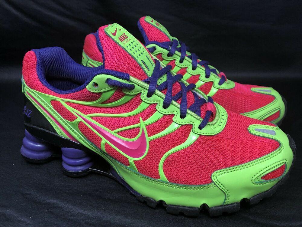 super popular b32a8 f8429 NIKE ID Shox Running Sneakers (326907-993) Purple, Hot Pink ...