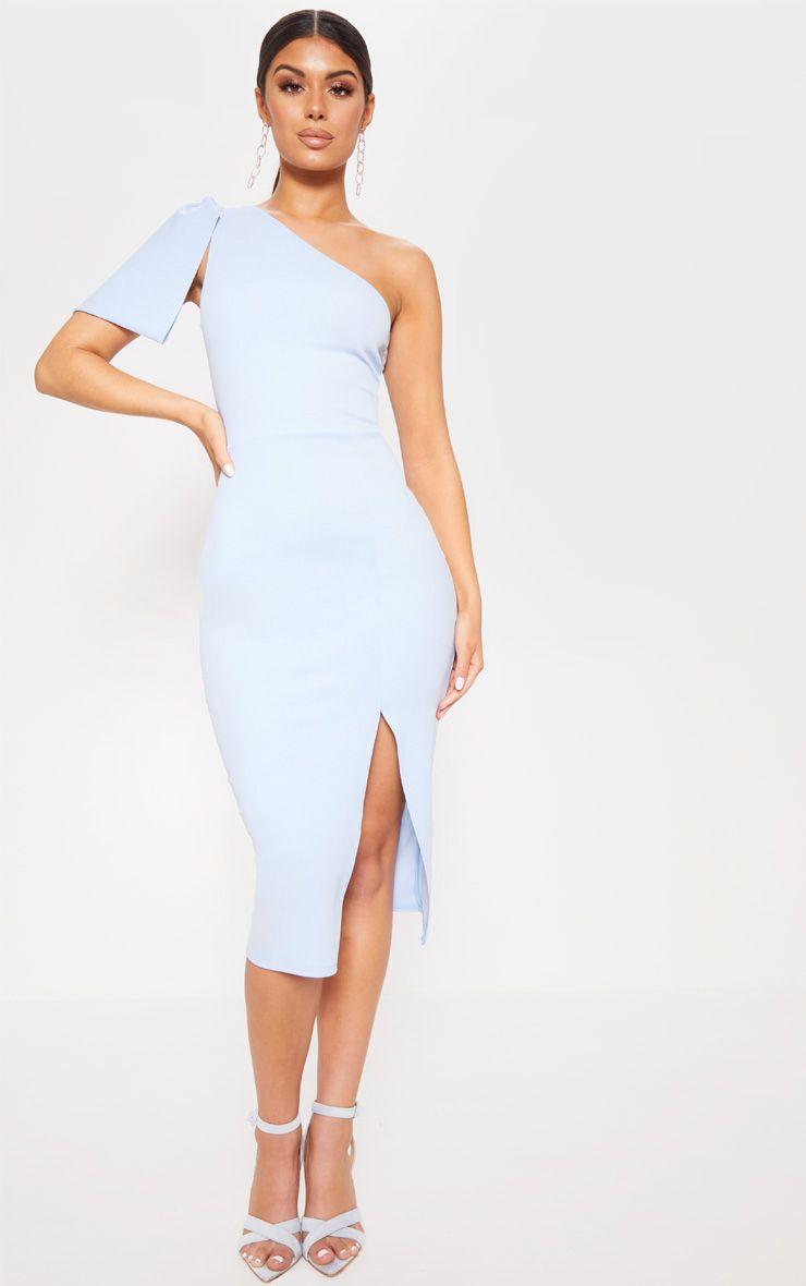 Baby Blue One Shoulder Dress Long Baby Blue Dresses Dresses [ 1180 x 740 Pixel ]