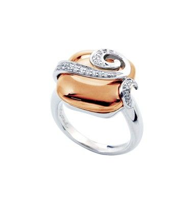 Vigne Champagne Ring by Belle Étoile - Spring Time
