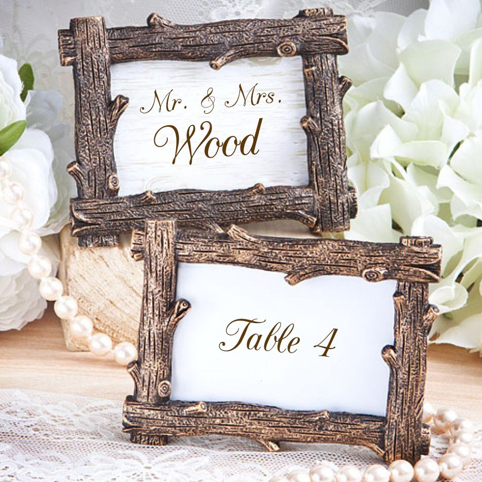 Wood Design Frame Favors [328-6586 Wood Frame Favors] : Wholesale ...